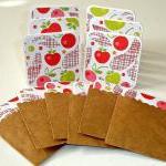 Mini card set, cherry apple mini ca..